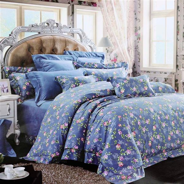 North Home Bedding Rosedale Queen 4-Piece Duvet Cover Set