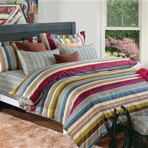 North Home Bedding Milano Queen 4-Piece Duvet Cover Set