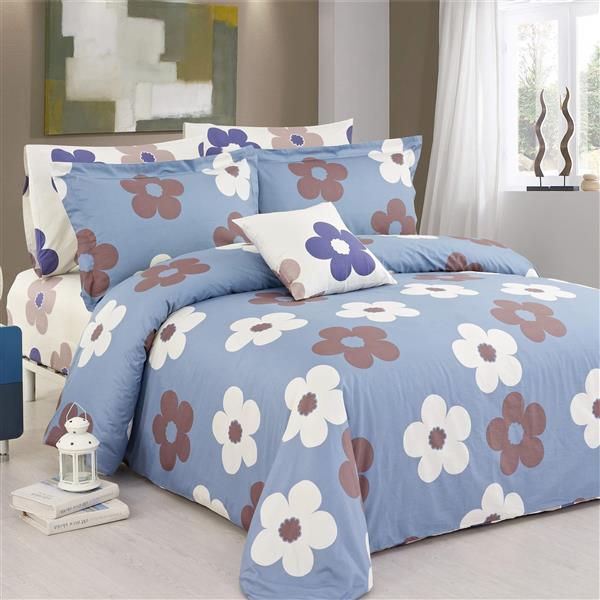 North Home Bedding Isabelle King 4-Piece Duvet Cover Set