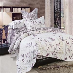 North Home Bedding Iris Queen 4-Piece Duvet Cover Set