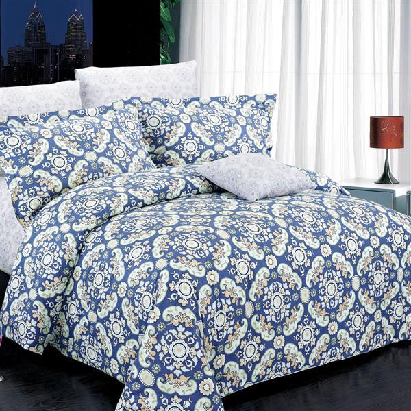 Ensemble housse de couette Harper, très grand lit, 4 mcx