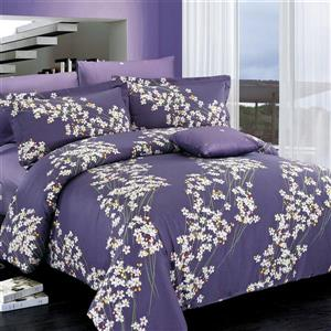 Ensemble housse de couette Freesia, grand lit, 4 mcx