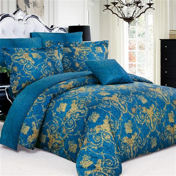 North Home Bedding Elizabeth Queen 4-Piece Duvet Cover Set