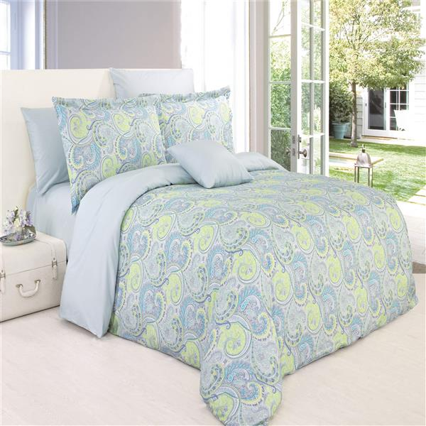 North Home Bedding Cheery Twin 4-Piece Duvet Cover Set