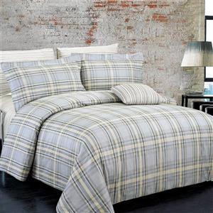 North Home Bedding Campus Queen 4-Piece Duvet Cover Set