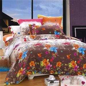 Ensemble housse de couette Blossom, grand lit, 4 mcx