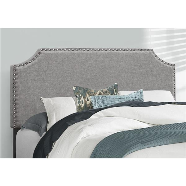 Monarch  Grey 80.25-in X 58-in Full Bed
