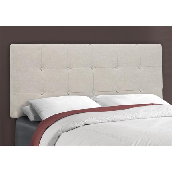 Monarch  Beige 80.25-in x 58-in Full Bed