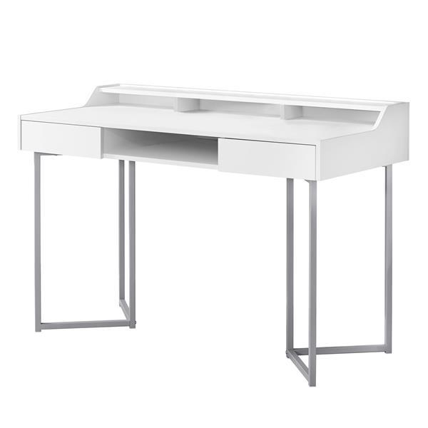 Monarch  32.75-in x 48-in White Computer Desk