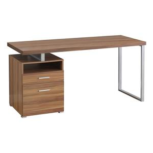 Monarch Specialties 30-in x 60-in Walnut Computer Desk