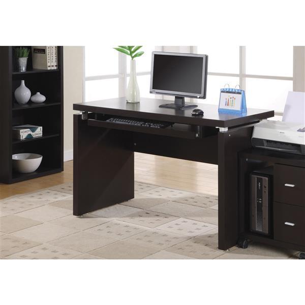 Monarch  30.75-in x 47.25-in Cappuccino Computer Desk