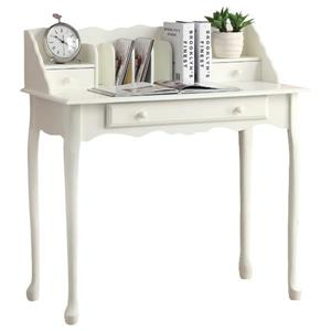 Monarch Specialties 36-in Antique White Secetary Desk
