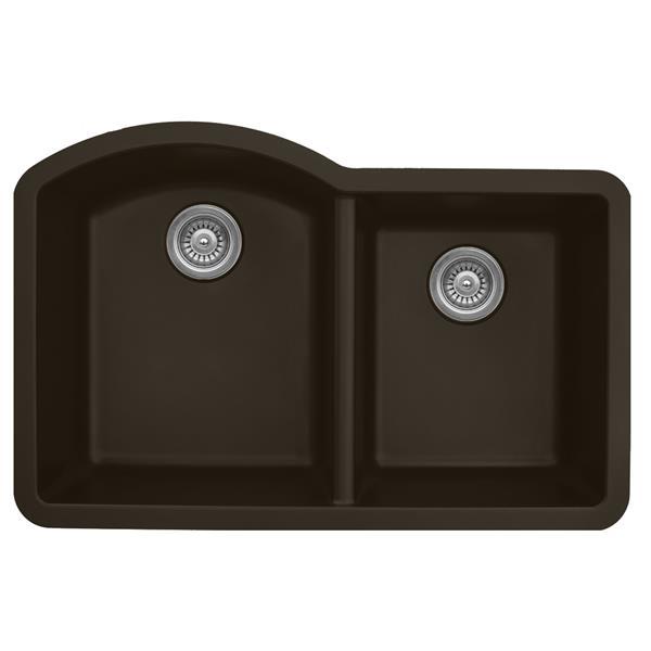 Karran Kitchen Sink - Brown Quartz - 32-in