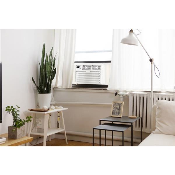 MVP Sales and Marketing North America Inc. 18.5-in x 13.3-in 6,000-BTU White Window Air Conditioner