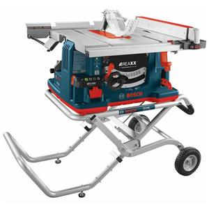 10 In. REAXX™ Table Saw with Gravity-Rise™ Wheeled Stand