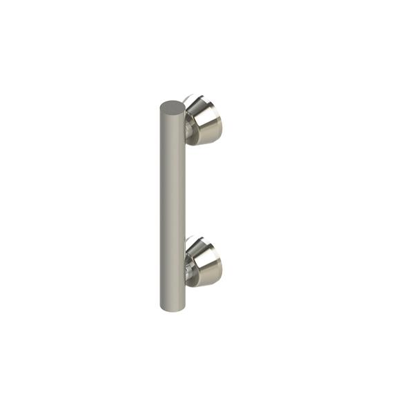 Invisia Collection 12-in Stainless Steel Linear Bar