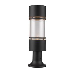 Z-Lite Luminata Outdoor LED Post Mount Light - Bronze