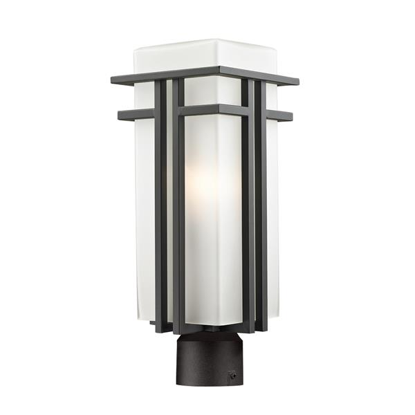 Z-Lite Abbey Outdoor Post Light - Outdoor Rubbed Bronze