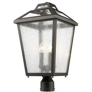 Z-Lite Bayland 3 Light Outdoor Post Light - Black - 11--in x 114-in