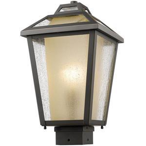 Z-Lite Memphis Outdoor Post Mount Light - Bronze - 9-in x 16-in