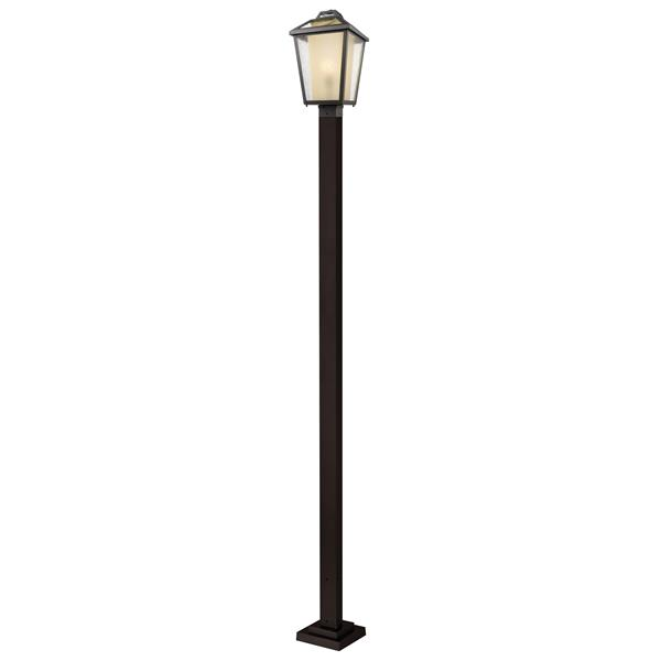 Z-Lite Memphis Outdoor Post Light - Bronze - 11-in x 114-in