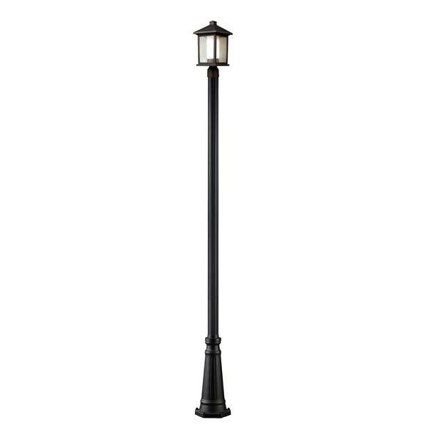 Z-Lite Mesa Outdoor Post Light - Bronze - 10-in x 109.25-in