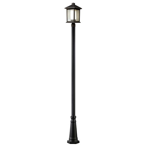 Z-Lite Mesa Outdoor Post Light - Bronze - 10-in x 112.25-in
