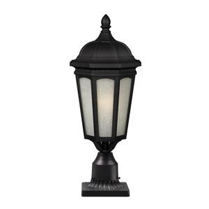 Z-Lite Newport Outdoor Post Mount Light - Black - 11-in x 26-in