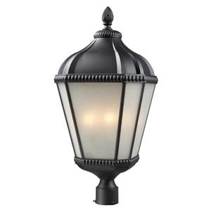 Z-Lite Waverly Outdoor Post Light - Black - 13-in x 27.75-in