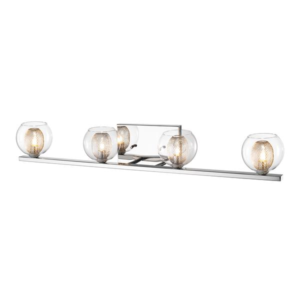 Z-Lite Auge 4-Light Chrome Vanity Light