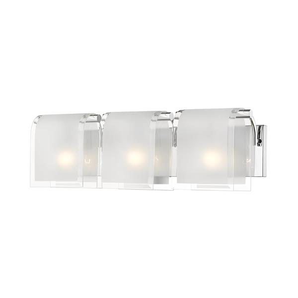 Z-Lite Zephyr Chrome 3 Light Vanity Light