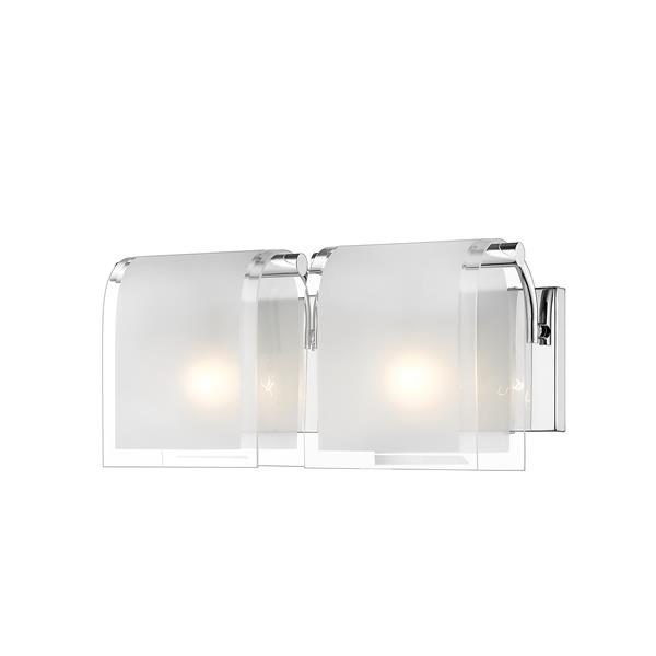 Z-Lite Zephyr Chrome 2 Light Vanity Light