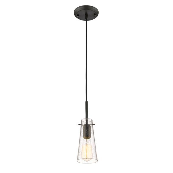 Z-Lite Monte Bronze 1-Light Mini Pendant Light