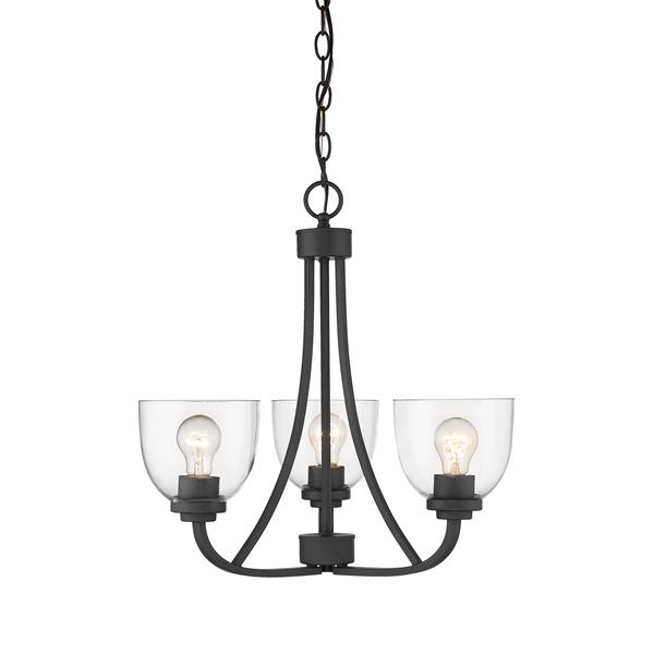 Z-Lite Ashton 3-Light Bronze Chandelier