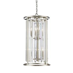 Z-Lite Monarch 6-Light Brushed Nickel Chandelier