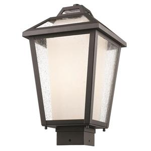 Z-Lite Memphis Outdoor 1-Light Outdoor Post Mount Light - Black