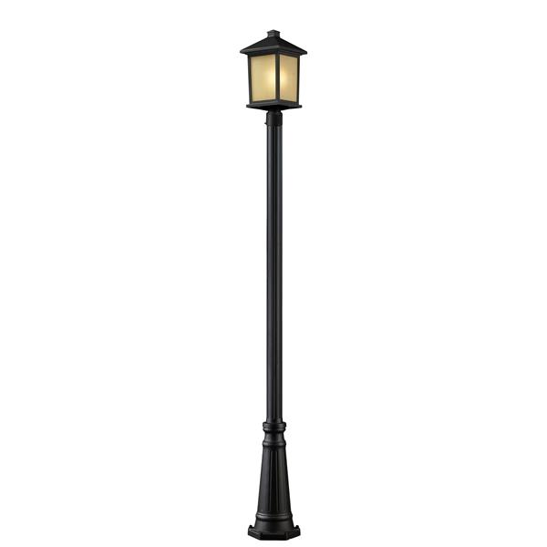 Z-Lite Holbrook Outdoor Post Light - Oil Rubbed Bronze