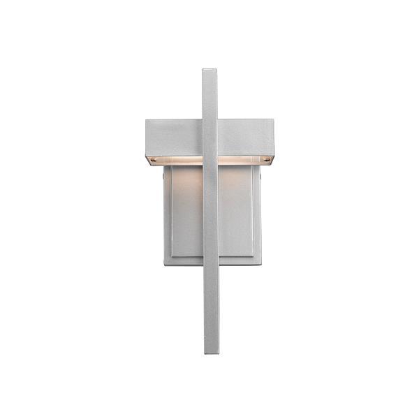 Z-Lite Luttrel 11.75-In x 5.50-In Grey Outdoor Wall Sconce