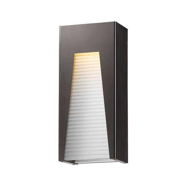 Z-Lite Acclaim Lighting Millenial 18.00-in x 8.00-in Grey Outdoor Wall Light
