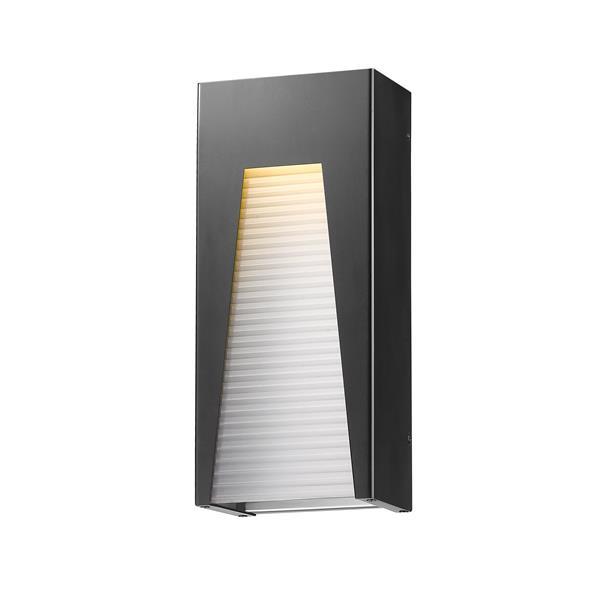 Z-Lite Acclaim Lighting Millenial 18.00-in x 8.00-in Grey Outdoor Wall Light