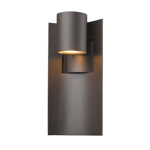 Z-Lite Amador 14.75-in Deep Bronze Outdoor Sconce