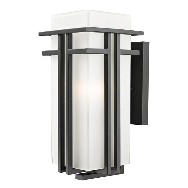 Z-Lite Abbey 17-in Medium Bronze Outdoor Wall Sconce