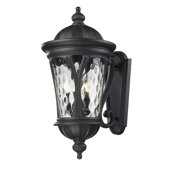Z-Lite Doma 28.75-in Black 5-Light Outdoor Wall Light