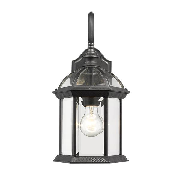 Z-Lite Annex 15.75-in Black Outdoor Sconce