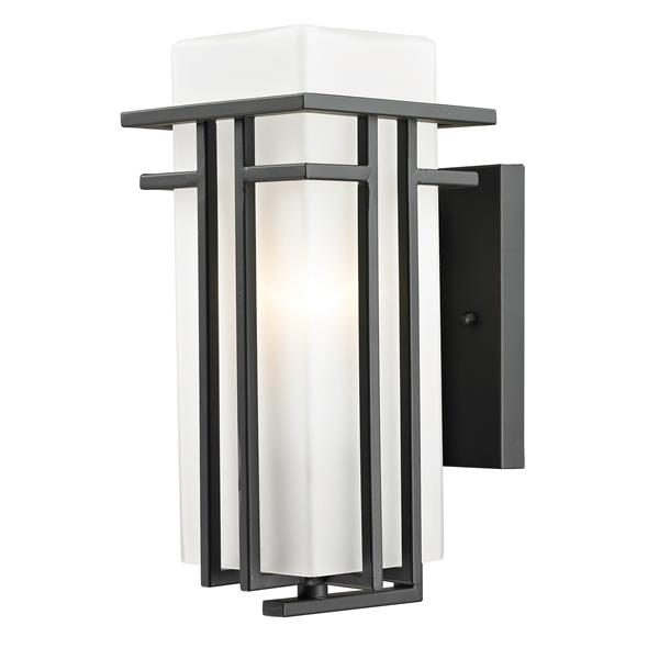Z-Lite Abbey Outdoor Wall Light - Outdoor Rubbed Bronze