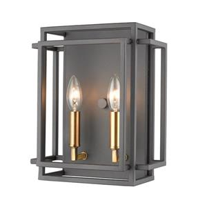 Z-Lite Titania 2 Light Wall Sconce