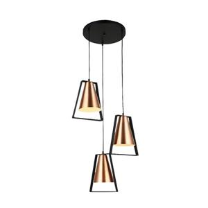 Lumirama Coppello Copper 3-Light Pendant Light