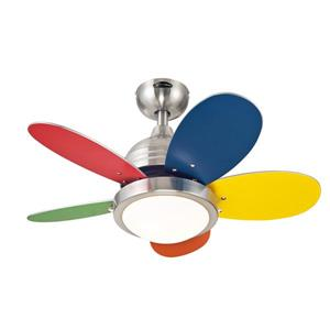 Roundabout 5-Blade LED Ceiling Fan - 30