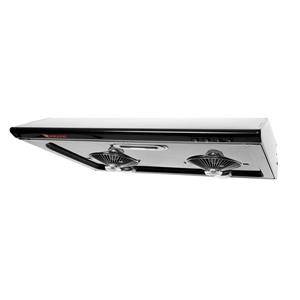 Maxair 30-in Black Undermount Hood