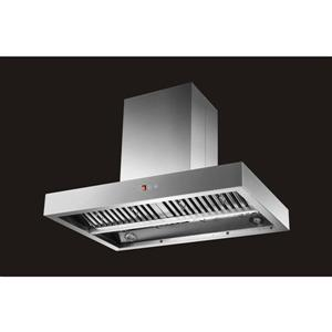 Maxair 36-in Round Vent Canopy Style Island Range Hood